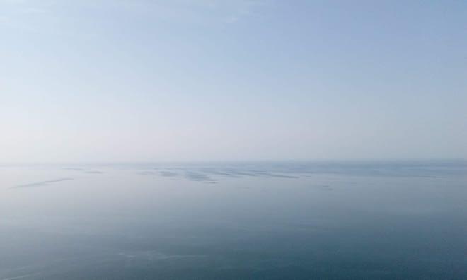 Foggy Baikal.