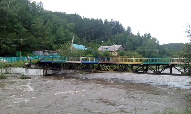 River Ehe-Uhgun' near Arshan