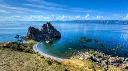 Cape Burkhan, Shaman Rock on Olkhon Island.
